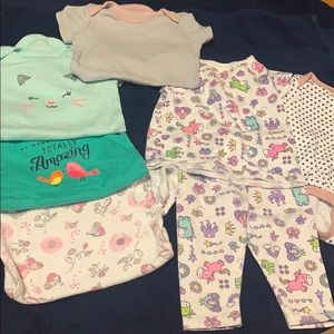 3-6 M babygirl clothes